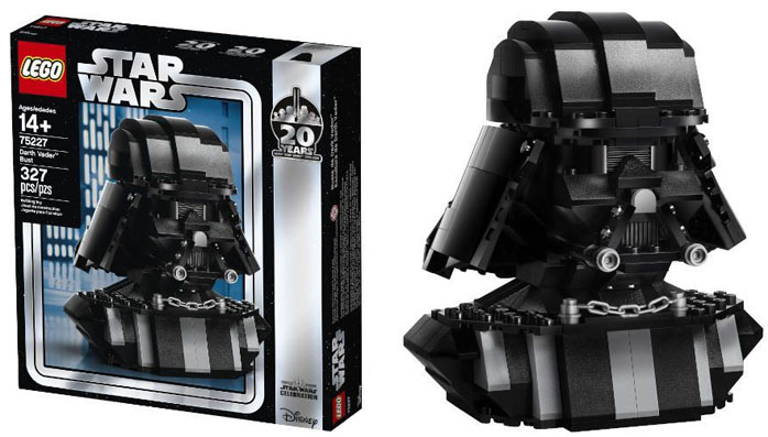 75227 lego collector 20th star wars darth vader dark vador