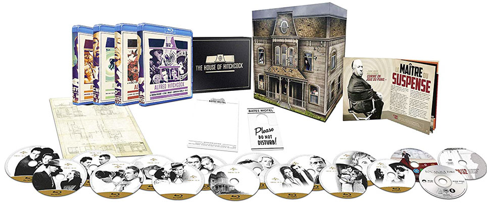 Coffret collector blu ray 16 film edition manoir 2019