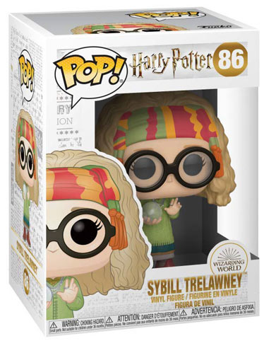 Funko sybill Trelawney nouvelle collection Harry Potter