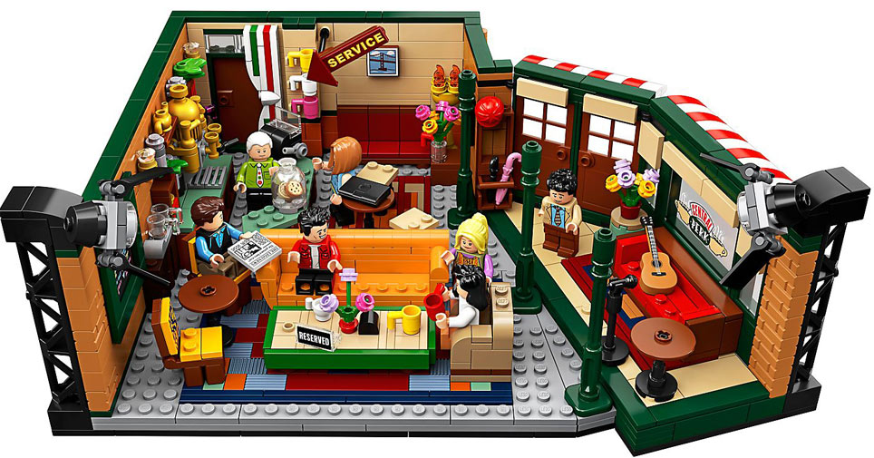 Lego Friends central perk Bar collection LEGO ideas