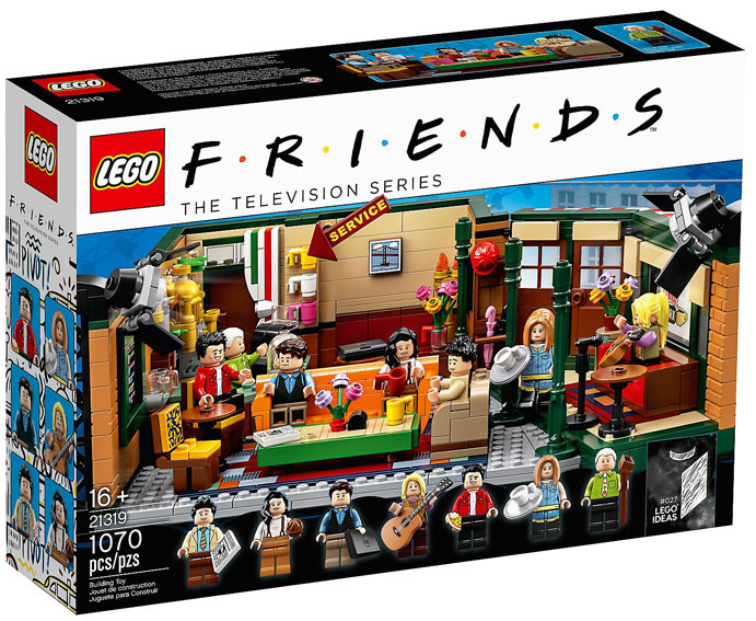 Lego ideas 21319 Friends serie tv LEGO Friends