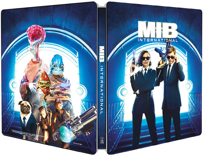 MIB men in black international steelbook edition collector limitee Blu ray 4K dvd