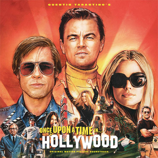 Once upon a time Hollywood ost soundtrack bande originale CD Vinyle LP