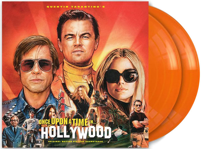 once upon a time hollywood vinyle lp ost