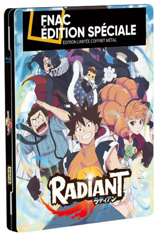 radiant Steelbook collector Blu ray DVD integrale