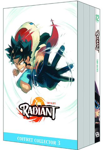 radiant coffret collector manga serie anime livre bd