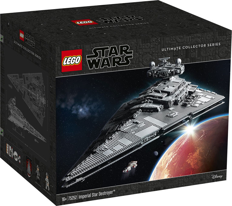 75252 Lego star warsUltimate collector Imperial Star Destroyer