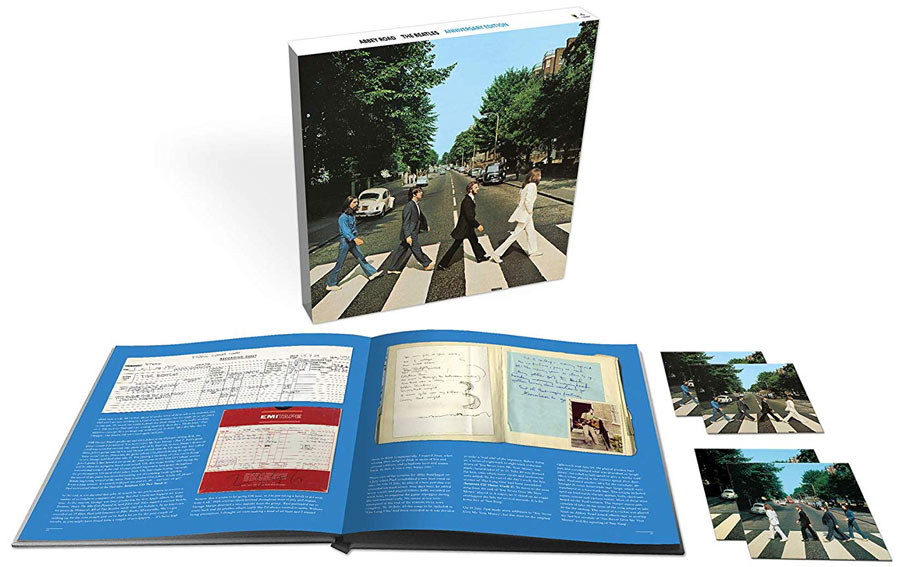 Coffret super deluxe box Beatles Abbey Road 50th CD Vinyle LP