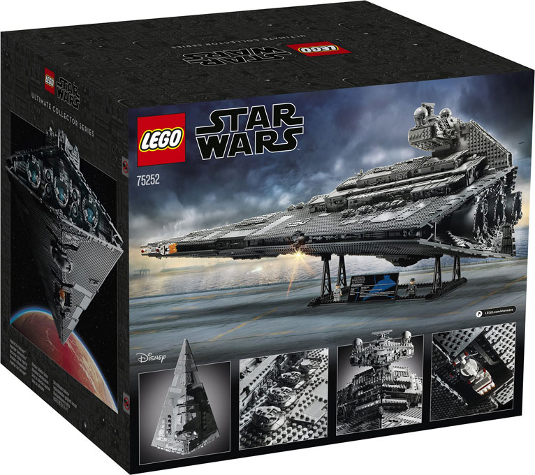 Lego 75252 Star Wars ISD imperial star destroyer croiseur interstellaire