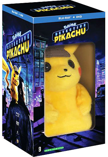 Pokemon Detective Pikachu film coffret collector peluche