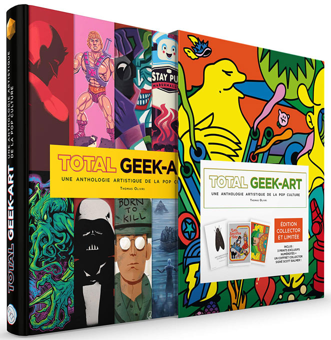 Total geek art artbook livre edition limitee numerotee 2019