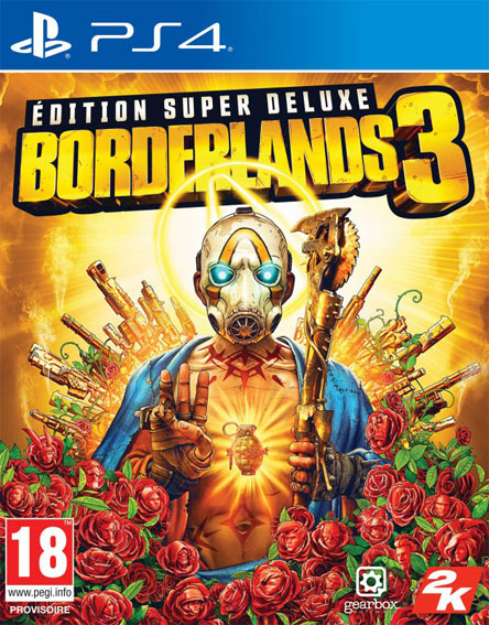 borderlands 3 coffret collector edition limtiee steelbook PS4