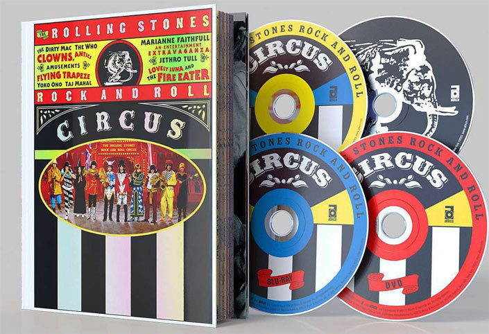 Stones blu ray DVD rock n roll circus 2019 50th anniversary