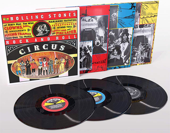 The rolling stones rock and roll circus edition Vinyle LP collector deluxe