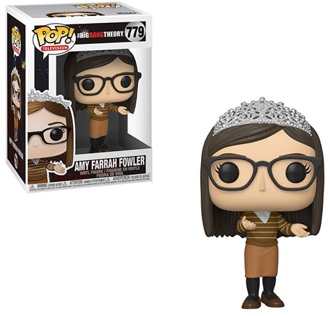 Amy funko big bang theory