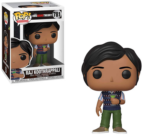 Big Bang theory raj funko pop