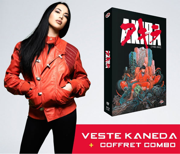 Coffret Akira Veste cuir edition limitee Blu ray Collector