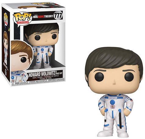 Figurine funko pop Howard big bang theory