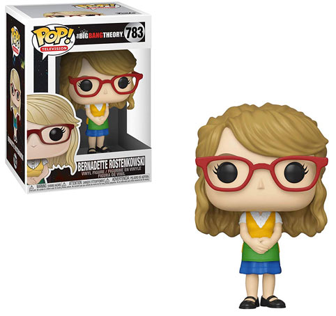 Figurine funko pop bernadette big bang theory