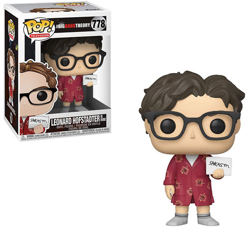 Funko pop leonard big bang theory 2019