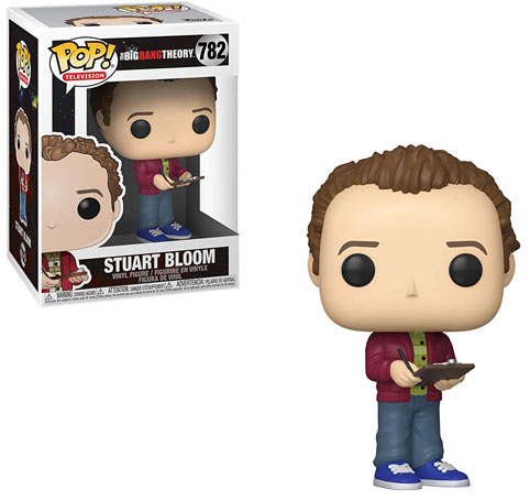 stuart big bang theory figurine funko pop