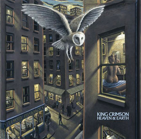 king crimson coffret integrale edition limitee CD Bluray DVD 2019
