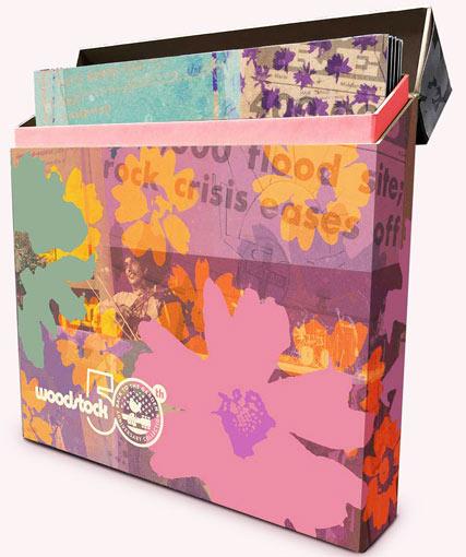 Woodstock Coffret Collector 50th Anniversary Box