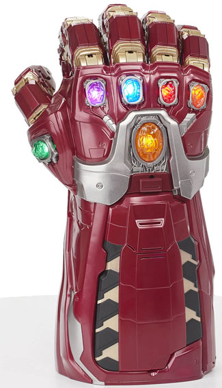 gant de puissance avengers endgame iron man marvel legend series