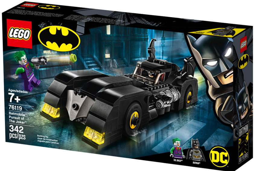 lego batman collection 2019 batmobile joker