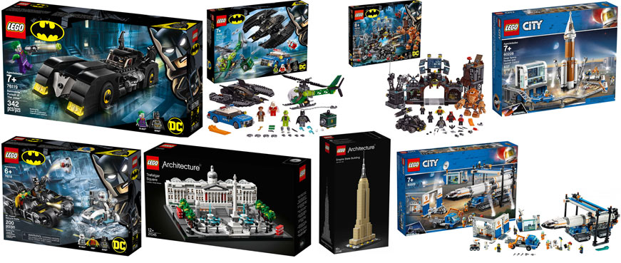 collection lego 2019