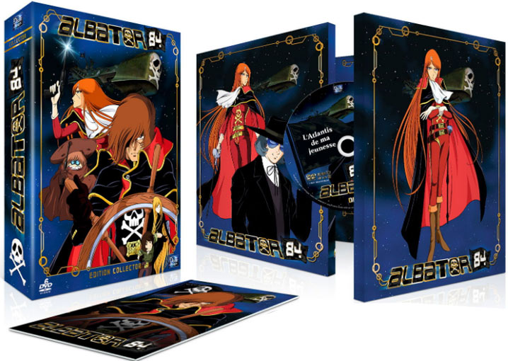 albator 84 coffret collector edition limitee bluray dvd