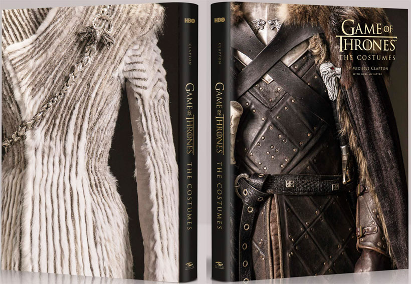 Artbook Game Of Thrones costumes