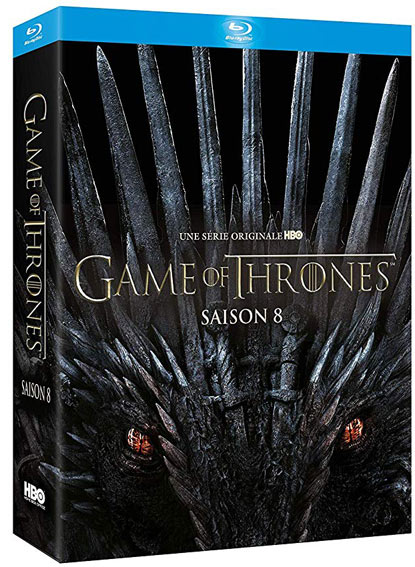Game of thrones Coffret integrale saison 8 Blu ray DVD