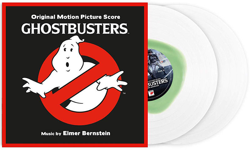 Ghostbusters double vinyle lp bande originale ediiton limitee 35th