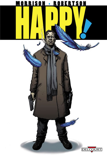Happy comics livre edition deluxe delcourt
