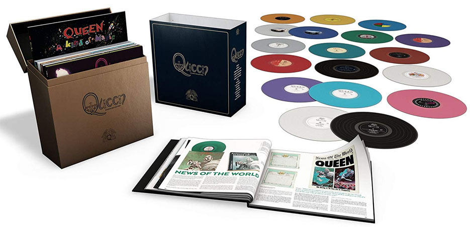 Queen Coffret integrale Vinyle 2019 edition collector limitee 18 LP