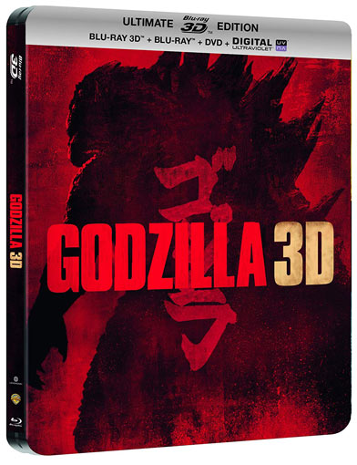 Steelbook film godzilla 2014 edition collector Blu ray 3D DVD
