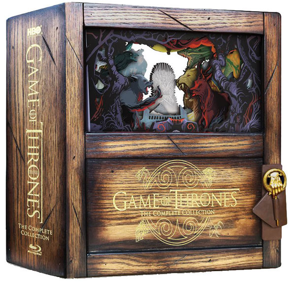 game of thrones coffret collector integrale Blu ray 8 saisons box