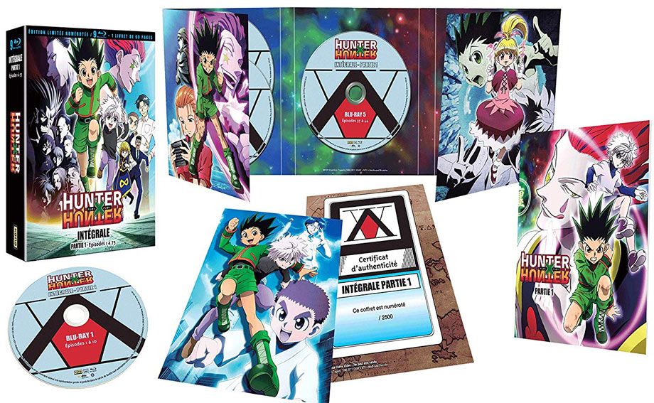 hunter x hunter Coffret integrale collector edition limitee numerotee Blu ray