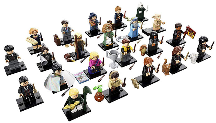 liste mini figurine lego potter