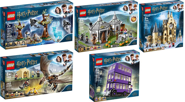 nouveau lego harry potter collection 2019
