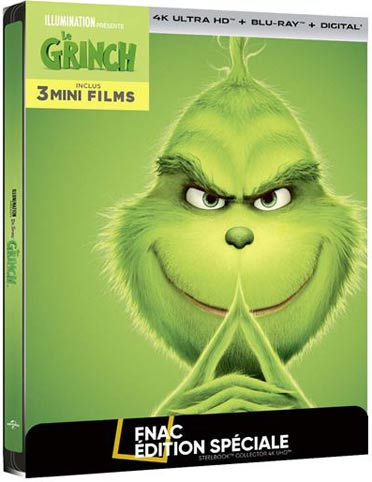 Le-grinch-steelbook-Blu-ray-4K-edition-fnac-collector-anime