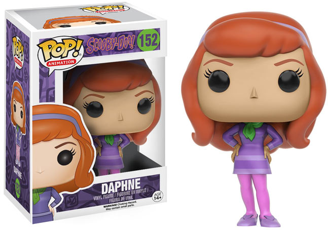 Funko pop daphne scoudibou figurine collection 50 years 50 ans