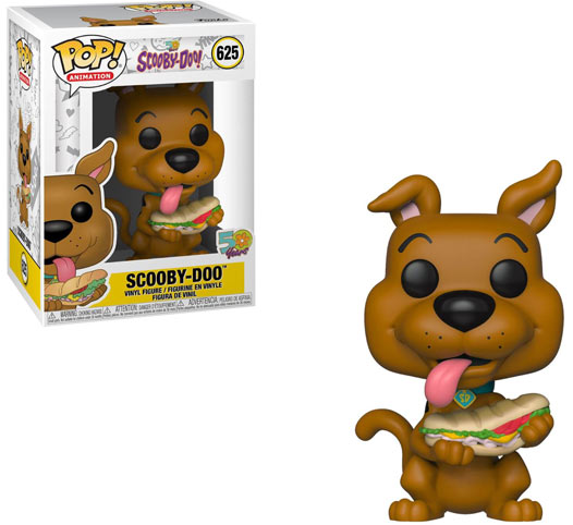 funko pop scooby doo sandwich figurine 50 ans 50 years