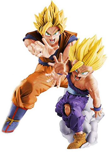Son-goku-son-Gohan-figurine-collector-dbz-dragon-ball-z-super-saiyan
