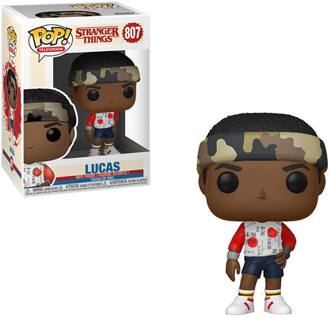 Figurine stranger things lucas collectible collection funko pop