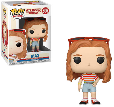Funko Pop max figurine stranger things collection 2019
