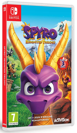 Spyro nintendo switch collection 2019