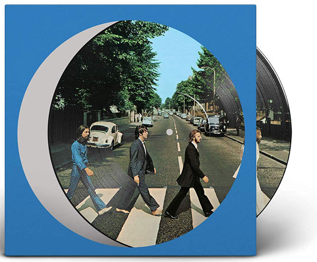 Abbey Road Vinyle Picture Disc 50th beatles 50 ans