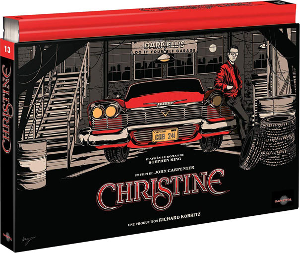 Christine coffret ultra collector Blu ray DVD 4k edition limitee Carlotta